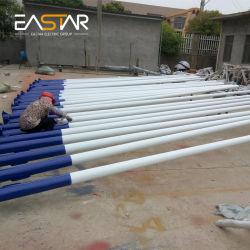 Straßenlaternedes Stahl-Polyester-achteckiges Solarstraßen-Verkehrs-LED/heller Pole