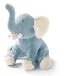 Горячая продажа Custom Симпатичные мягкие игрушки Blue Elephant игрушка для малыша
