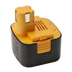 Outil d'alimentation 12V de la batterie Ni-MH 2.5Ah pour Panasonic EY9001 EY9005B9006 Ey EY9006b