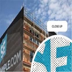 메시를 광고하는 건축 포장 메시 기치 은신처 비계