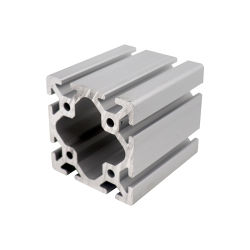 Ranura en T Industrial Fabricante de Extrusión de Aluminio 6063 Perfil de aluminio 8080
