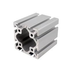 Fabricant Emplacement T industriel aluminium extrudé 6063 T5 8080 Profil en aluminium pour routeur CNC Machine