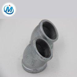 Оцинкованные Чугунные трубы фитинг полосовые равных колено 45 градусов