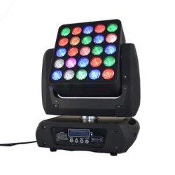 Étape de déplacement de la matrice DJ Déplacer la tête de lumière LED de lumière Étape