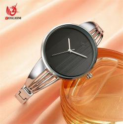 Nouveau mode femmes charme couleur or Collier Bracelet Chaîne analogique montre-bracelet Quartz #V370