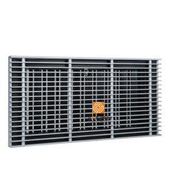 شبكة أرضية من الألومنيوم لنظام التدفئة والتهوية وتكييف الهواء (HVAC)
