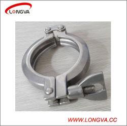 Raccord de tuyau en acier inoxydable sanitaire de la goupille double collier de serrage