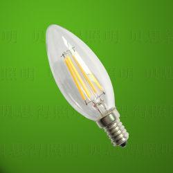4W bougie à incandescence ampoule LED