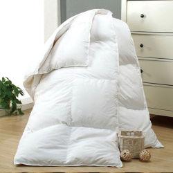 100% хлопок ткань утку и гуся вниз заполнены одеялом стеганых матрасов (DPF1072)