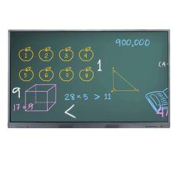 """86"""" 4K tableau blanc interactif tactile IR LCD pour salle de classe"""