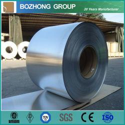 سطح 2B/BA طبقة من الفولاذ المقاوم للصدأ/شريط مقاومة للصدأ (201/202/301/304/304L/316/316L)