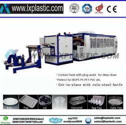 L'eau en plastique contenant de lait Café tasses bol alimentaire machine de thermoformage Flower Pot pour le PP PS Pet matériel PLA