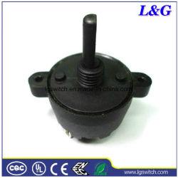 Herramienta de potencia de 20mm Eje D 4 Cambio de posición de interruptor giratorio