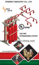 نظام إخماد الحرائق بثاني أكسيد الكربون (CO2) المدرج في قوائم UL/نظام إطفاء الحريق بثاني أكسيد الكربون
