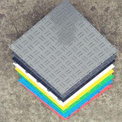 Des prix compétitifs de haute qualité 100 % nouveau matériau de PP des carreaux de sol de verrouillage