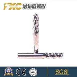 3 durável flautas moinhos de ponta de carboneto de ferramentas de corte de alumínio