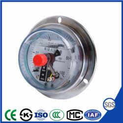 Drukmeter voor contact met hete verkoop met olie gevuld met schokbestendig elektrisch systeem