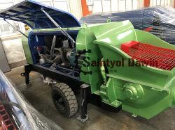 Diesel van de Concrete Pomp van de aanhangwagen Hydraulische Natte Concrete Bespuitende Machine Dspj08-11-56