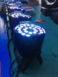 La PARITÀ può PARITÀ 18 migliore LED Parlight di alto potere LED dei pacchetti di illuminazione