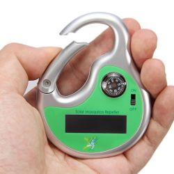 Hook Compass Outdoor Pest Repeller를 가진 소형 Portable Solar Powered Ultrasonic Mosquito Repellent Killer