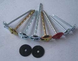 Chiodo per tetti in metallo Galvanizzato e con Elettroplaccatura in rame per ombrello e tetto