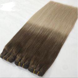 Comercio al por mayor llamado doble de alta calidad de la cutícula del cabello de color de trama Ombre