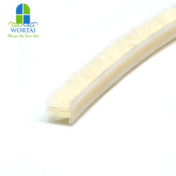 4.8*6 Silicon Water-Bestendige Wool Vilt Seal Strip