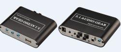 Le canal 5.1 AC3 DTS Décodeur numérique du son pignon Audio 5.1
