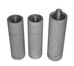 Customed Qualitäts-Isostatic Druck-Graphitgefäß für Strangguß