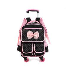 Nice Kids Cartoon Trolley Bag School Rucksack für Mädchen Sh-15122195