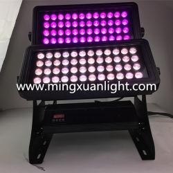 ضوء غاسلة حائطي LED كامل الألوان ومقاوم للماء 72PCS بقدرة 10 واط