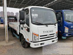 Vrachtauto Flat Truck lichte vrachtwagen 3 ton T-King