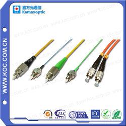 Fibra monomodale ottica del ponticello del Zona-Cavo della fibra FC