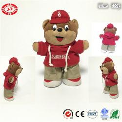 Sport-Qualitätsplüsch-stehende Qualitätskundenspezifisches CER Bären-Spielzeug