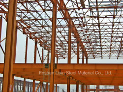 Construction d'acciaio Project con Angle Steel Roof Truss