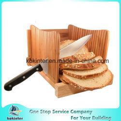 La FDA/planche à découper en bambou bambou LFGB pliable trancheuse à pain