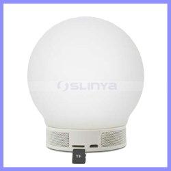 Voyant sans fil lampe des feux de nuit Le président avec le temps d'affichage haut-parleurs Bluetooth Réveil TF lampe moderne luminosité réglable