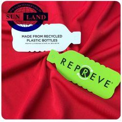 유지할 수 있는 뜨개질을 한 입는 75D72f Repreve 100 폴리에스테에 의하여 재생되는 저어지 직물