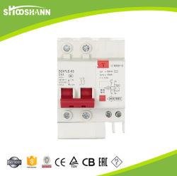 De MiniatuurStroomonderbreker MCB van de Overbelasting MCCB van Dz47-63 6AMP 1pole