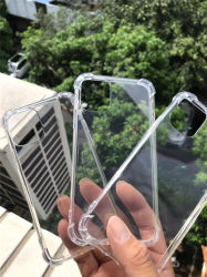 """Kristall TPU löschen Telefon-Deckel, das 1.50mm Telefon-Kasten mit Eckschutz vier für iPhone 11 (6.1 """"), das PRO iPhone 11 (5.8 """") und iPhone 11 Promaximale (6.5 """")"""