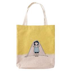 方法カスタムロゴによって印刷されるキャンバスのトートバック、卸売のショッピングのための頑丈な綿袋