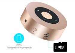 La vente de métal chaud haut-parleur USB avec la carte de TF Affichage LCD pour Home Party