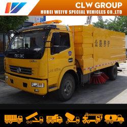 Dongfeng 8M3/5toneladas Road varrer o equipamento de limpeza da máquina com 4 escovas para o descarte de lixo de rua da cidade