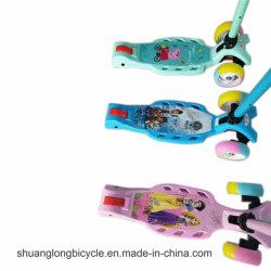 Novo Cartoon filhos crianças bicicleta skate Equilíbrio Kick Scooter (2847)
