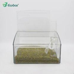 Migliore contenitore di memoria all'ingrosso libero di plastica di vendita del riso dello scomparto
