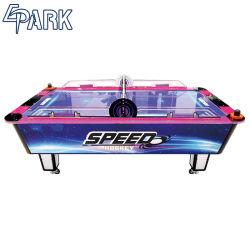 Parque de Diversões profissional máquinas de jogo de hóquei de ar de tamanho completo com moedas de mesa
