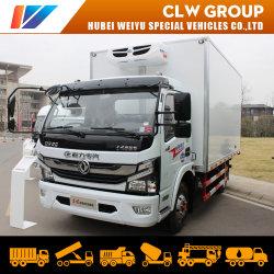 3tons冷却装置容器のシーフードまたは野菜またはフルーツの輸送のための小さい冷却のフリーザーの貨物トラック