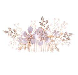 Fleur de Coiffure élégante Hair Clip élégante parure de bijoux