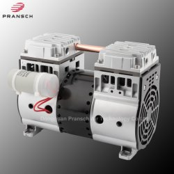 Pransch 1400h Oilless携帯用小型小さい高圧ピストン空気乾燥したブレーキシステムオイル自由により少ない真空ポンプ