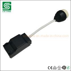 Toma de GU10 con caja de conexión y rápida de cierre - Conector rápido GU10 - portalámparas de cerámica